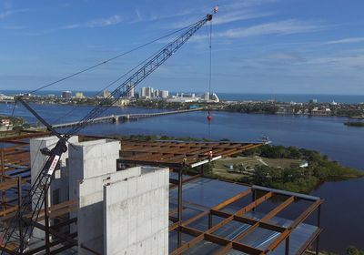 Brown & Brown Tops Off Its Future HQ in Daytona Beach