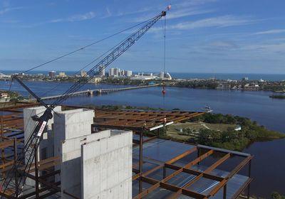 Brown & Brown Tops Off Its Future HQ in Daytona Beach